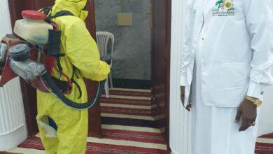 Photo of فريق همم مكية التطوعية وفريق سواعد الهدى ينظفان مسجد أبوبكرالصديق