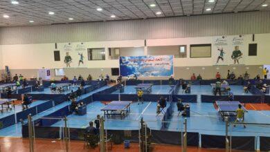 Photo of أنطلاق بطولة الأمير فيصل بن فهد للفردي والزوجي لكرة الطاولة