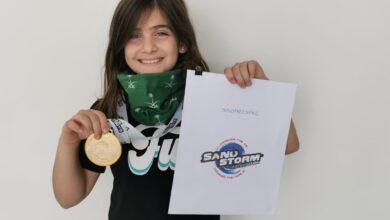 Photo of الحجيلان تحقق الميدالية الذهبية بمسابقة دبي انفلايت لمحترفي الويند