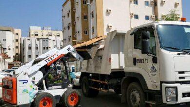 Photo of بلدية المسفلة تواصل جهودها لإزالة الظواهر السلبية