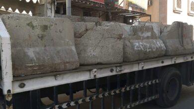 Photo of بلدية المسفلة ترفع أكثر من 100 صبة خرسانية مشوهة للمظهر العام