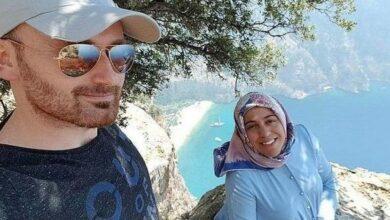 Photo of زوج يدفع بزوجته الحامل من قمة جبل بعد التقاط سلفي معها