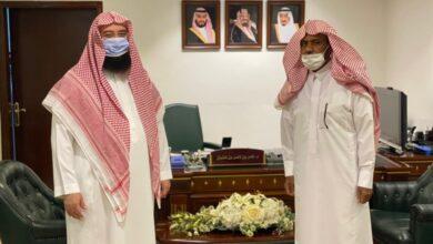 Photo of الغشيان يستقبل الأمين العام لجمعية كبار السن