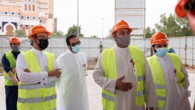 """Photo of برج عملاء بنده"""" الخيري يرتفع في مكة دعماً للأطفال ذوي الإعاقة في المملكة"""