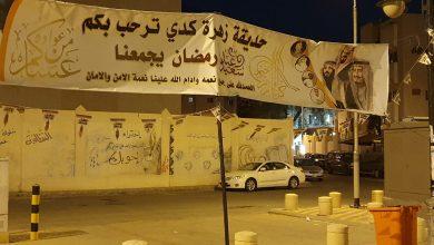 Photo of مركز حي المسفلة وشباب مخطط زهرة كدي يزينون حديقة الحي