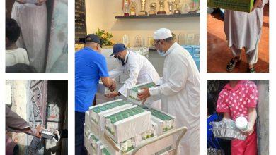 Photo of مركز حي المسفلة يوزيع يوميآ وجبات الافطار والسلال
