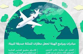 "Photo of "" الطيران المدني"" تستعرض أبرز مبادراتها للإسهام في الحفاظ على البيئة"
