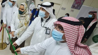 Photo of تدشين العيادة المتنقلة لتعزيز الصحة والإقلاع عن التدخين بمستشفى الملك عبدالعزيز