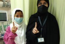 Photo of مريضة فلبينية تشهر إسلامها على يد واعظات جمعية صندوق إعانة المرضى