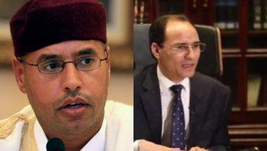 """Photo of خالد الزائدي محامي سيف الاسلام القذافي … سيف الإسلام لم يجر لقاء مع """"التايمز"""" البريطانية"""