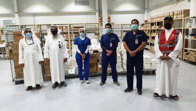 Photo of شحنة أدوية من جمعية صندوق اعانة المرضى إلى مستشفى الكويت الميداني بأرض المعارض لمكافحة كوفيد 19