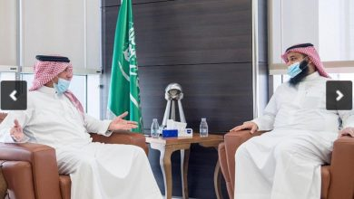 "Photo of رئيس وأعضاء المجلس البلدي لمدينة الرياض يزورون ""واس"""