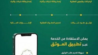 Photo of وزارة العدل: 21 ألف عملية عبر خدمة الموثق خلال شهر مايو 2021