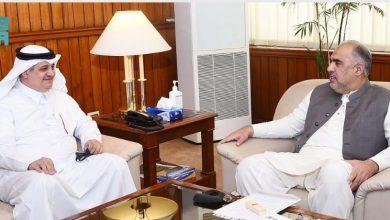 Photo of رئيس الجمعية الوطنية الباكستانية يلتقي سفير المملكة