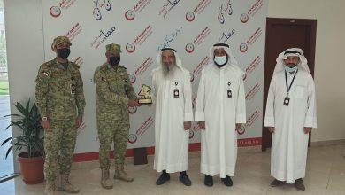Photo of وفد التوجيه المعنوي بالحرس الوطني يزور صندوق اعانة المرضى
