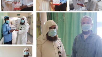 Photo of جمعية صندوق اعانة المرضى تقيم انشطة توعوية ومسابقات ثقافية للمرضى بالمستشفيات