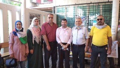 Photo of التجمع الفلسطيني للوطن و الشتات في وقفة تضامنية مع الأسرى أمام الصليب الأحمر
